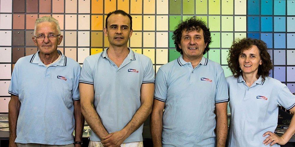Derpit Colorificio Parma - Vendita, laboratorio, atelier.